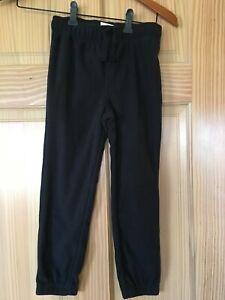 NWT Gymboree Boys Pull on Pants Fleece Black Outlet 4,5/6,7/8,10/12