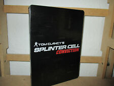 Tom Clancy's Splinter Cell Conviction PC steelbook game soundtrack wie neu
