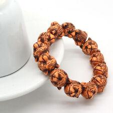 Fashion Women Men Elastic Chain Tiger Head Beads Bangle Bracelet In Bulk