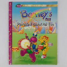 Barney Coloring Color & Activity Book Barneys Great Adventure Parade Carnival