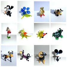 Handmade Art Glass Blown Glass Lampwork Figurines Animals (Small Size) #2