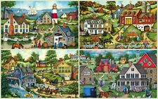 4 Master Pieces 500 Piece Puzzles Simple Living by Bonnie White NEW
