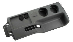 New! 1987 - 1993 Ford MUSTANG Center Console Cup Holder with USB Port Smoke Gray