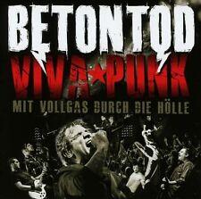 BETONTOD / VIVA PUNK - MIT VOLLGAS DURCH DIE HÖLLE * NEW 2CD'S * NEU *