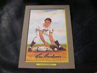 Perez-Steele Great Moments #63 Lou Boudreau Autographed Photo 1821/5000 JSA
