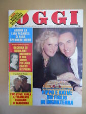 OGGI n°5 1988 Katia Ricciarelli Baudo Stephanie di Monaco Edwige Fenech [G785]