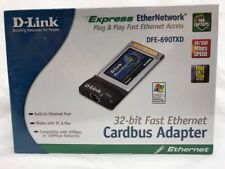 Sealed New in Box D-Link CardBus10/100 Fast Ethernet PC Card DFE-690TXD
