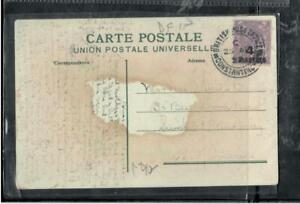 BRITISH LEVANT COVER (PP2912B) 1922  KGV 4 1/2P ON PPC