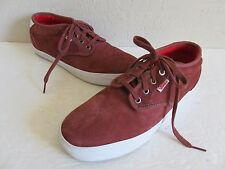 Vans Off the Wall Chima Ferguson Pro Red Suede Lace Up Skateboard Shoes Mens 10D