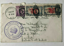 Danville USA Feb 25 - 1941 - auf Trinidad - Passed by Postal Censor 6