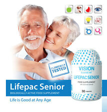 LIFEPACK SENIOR VISION - THE BEST VITAMIN AND MINERAL COMPLEX WITH PROBIOTICS