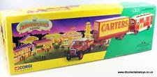 CORGI 15501 SCAMMELL Bandit de grand chemin Ballast remorque & caravane CARTERS Steam Fair En parfait état, dans sa boîte