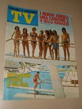 TV SORRISI CANZONI=1971/33=NUOVI ANGELI=ANNA IDENTICI=LUCIO BATTISTI=NADA=
