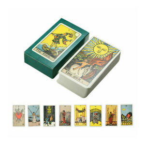 Tarot Card Deck Card Rider Learning Set And Manual Complete Sealed Card Ne^