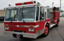 1985 Federal Motors E-One Hurricane 500 Gallon Tank Pumper Fire Truck