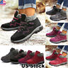 Women Ladies Fur Lined Anti-Slip Snow Boots Winter Warm Sneaker Shoes Size 6-9.5