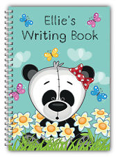 A5 PERSONALISED CHILDREN'S NOTEBOOKS/50 WRITE HAND WRITING PRACTICE PAPER/ 01