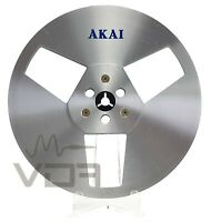 "AKAI R-7M 7"" 18cm Metal Reel to Reel Recording Tape Reel | 1/4"" Grade C"