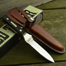 Schrade Old Timer 7Cr17 Full Tang Sawcut Delrin Handle Boot Knife 162OT