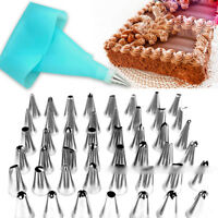 Stainless Steel Icing Piping Nozzles Tips Cake Pastry Decor DIY Baking Tools Set