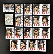 Panini FIFA World Cup Germany 2006 Complete Team Paraguay + Foil Badge