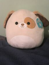 """Squishmallow Harrison The Dog 16"""" Soft Plush Pillow Kellytoy NEW WITH TAGS"""