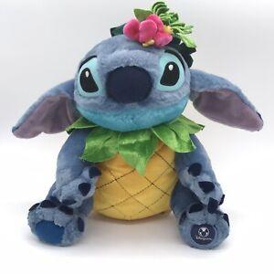 "Rare Disney Store Lilo & Stitch Pineapple 10"" Plush"