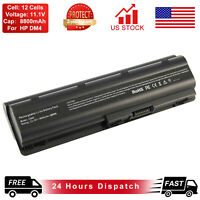 MU06 Battery For Hp Pavilion G62 G32 G42 G56 G72 G4 G6 G7 593553-001 12 Cell