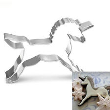 Cake Biscuit Pastry Cookies Cutter Baking Fondant Mold Stainless Steel Unicorn