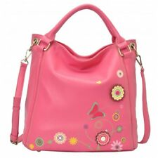Vendula FUNKY FLORAL BUTTERFLY HOBO BAG Girls Ladies HandBag RRP £70 NEW FUCHSIA