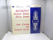 BEETHOVEN KREUTZER SONATA SPRING SONATA ALAN LOVEDAY ATL4060  LP  VINYL