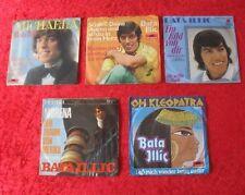 "5 Singles Single 7"" Sammlung von BATA ILLIC - Vinyl Schallplatten"