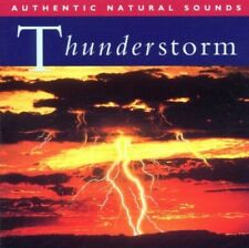 Authentic Natural Sounds - Natural Sounds: Thunderstorm (1994) CD *VGC/LIKE NEW*