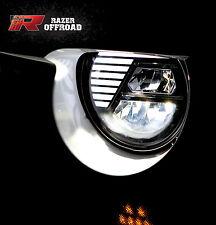 Street Legal Black LED Headlight DRL+Hi+Lo Beam+Cree fit 07-18 Jeep JK Wrangler