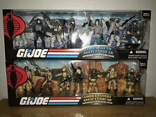 NEW Gi Joe 25th Ann Extreme set of 2 Cobra Arctic & Desert Squad Conditions RARE