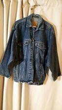 New listing Vintage Womens Levis Denim Jean Jacket Trucker Style Size M 77934-8206