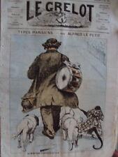 LE GRELOT TYPES PARISIENS A. LE PETIT N° 164 MAI 1874