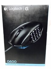 Logitech G600 Mmo Gaming Mouse (910-002864) Brand New