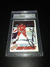 Danny Grant Signed 1977-78 Topps Red Wings Card PSA Slabbed #83427056