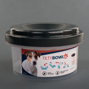 Tilty Bowl Größe M anthrazit Trinknapf für Hunde und Katzen - Auslaufsicher