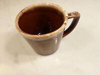 Vintage Brown Drip Coffee Cup Made in USA MCCOY                                J