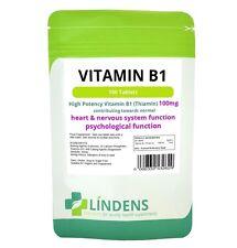 Lindens vitamina B1 100mg pastillas