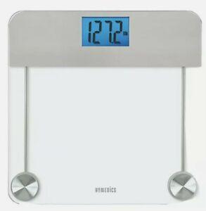 Homedics Bath Scale 448 Digital Scale 400 Pound Capacity Glass Platform