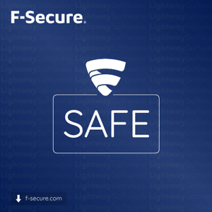 F-Secure SAFE 2021 Internet - 1 to 3 years for 1 to 5 devices (License key)