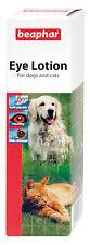 Beaphar Dog Cat Eye Lotion 50ml Sterile Saline - Solution