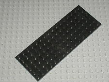 Plaque plate black 6 x 16 LEGO ref 3027 / set 373 852 954 590 374 7735 3225 7744