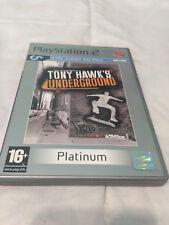 Tony Hawk´s Underground Platinum Playstation 2 Activision