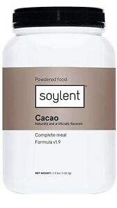 Soylent Complete Meal Replacement Powder Food Cacao Chocolate V1.9 2.3 LBS 9/21