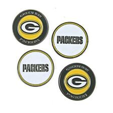"Green Bay Packers Golf Ball Markers ""Great Gift Here"" 4 Pack Special"