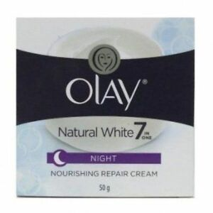 1 Pcs OLAY NATURAL WHITE 7 NIGHT CREAM ALL IN ONE FAIRNESS CREAM FREE SHIPPING